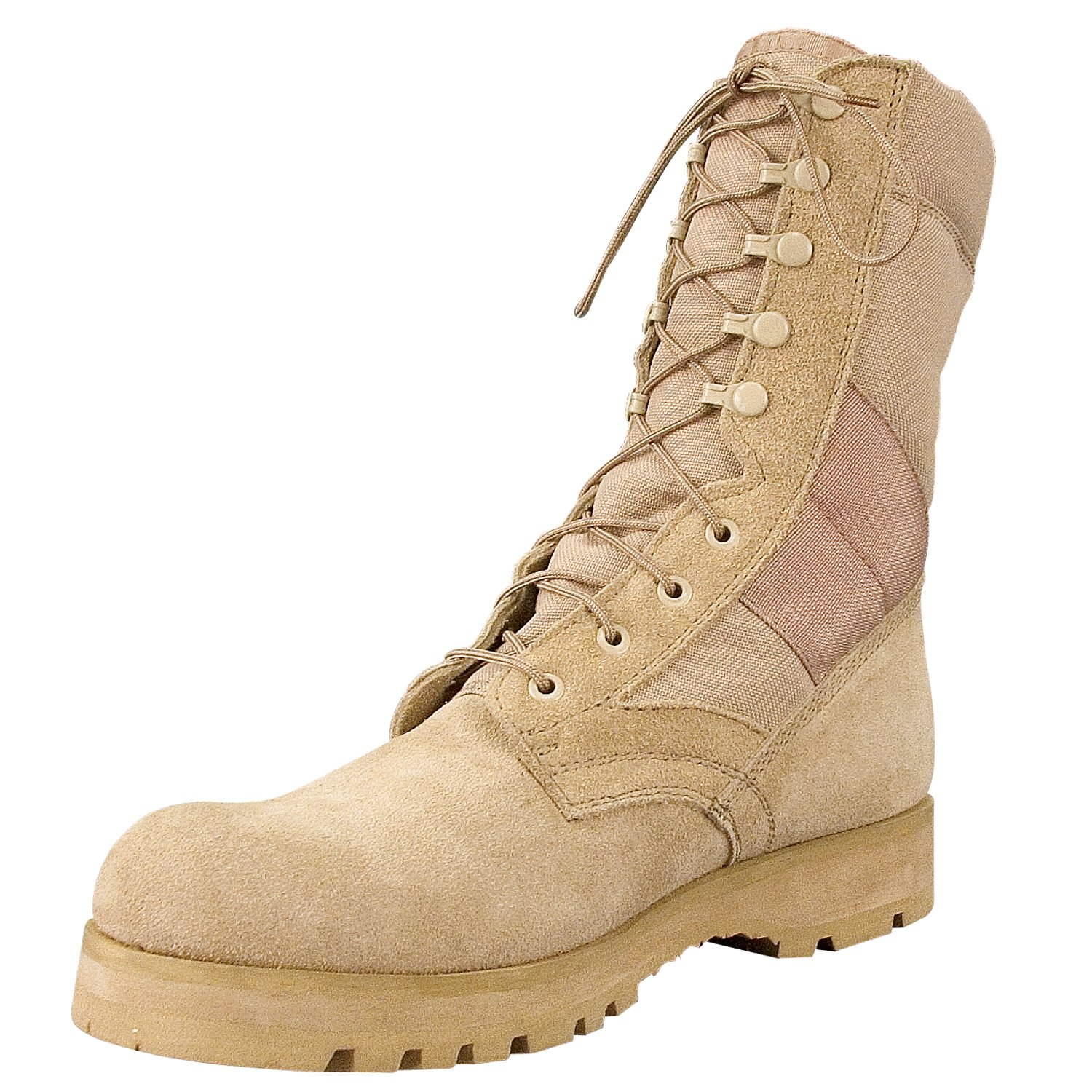 Rothco G.I. Type Sierra Sole Tactical Boots, 3, Regular, Desert Tan by Rothco