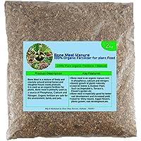 Evana Organic Fertilizer Bone Meal Powder for Plants (2 Kg)