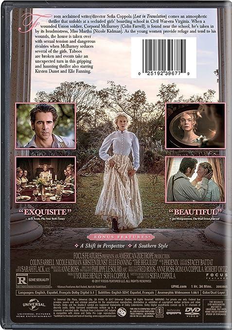 Amazon.com: The Beguiled (2017): Colin Farrell, Nicole ...