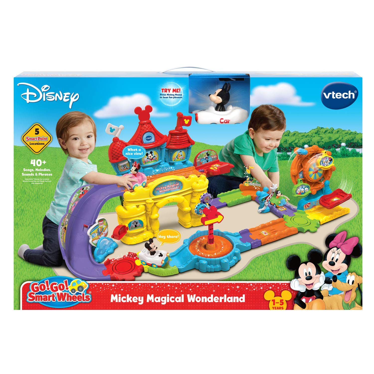 VTech Go! Go! Smart Wheels Mickey Mouse Magical Wonderland, Multicolor by VTech (Image #7)