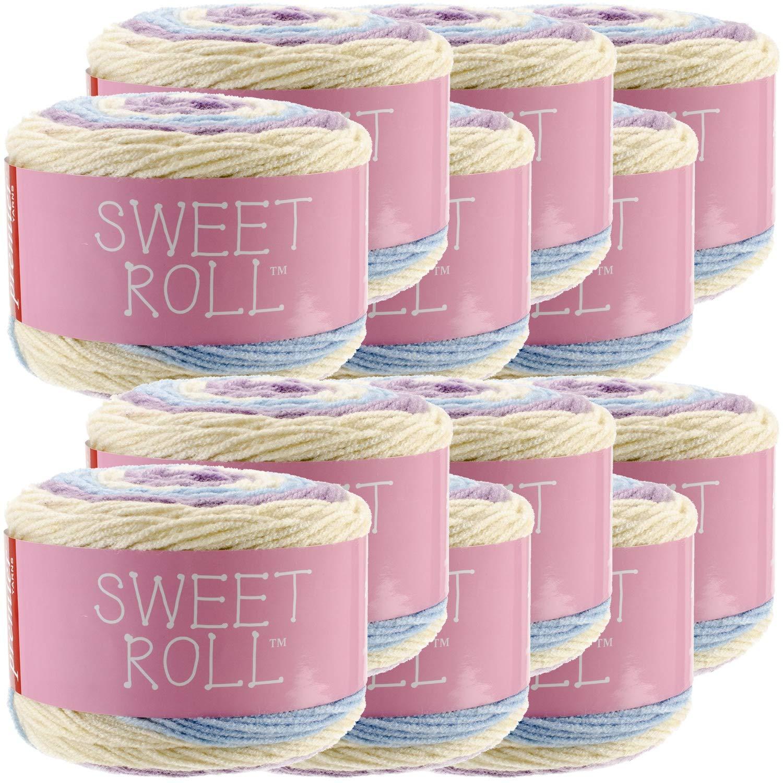 Premier Yarns 98531 Sweet Roll Yarn 12/Pk, Gelato Pop Pack