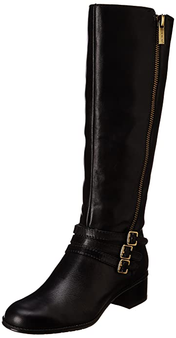 Amazon.com | Bandolino Women's Carsononia Leather Riding Boot ...