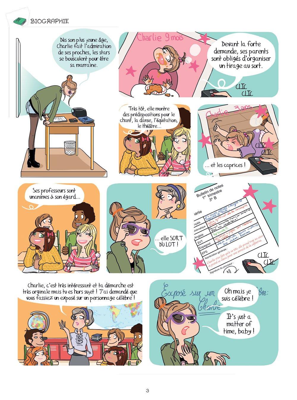 Charlie ma vie de star, Tome 1 : A moi la célébrité!: 9782822202510: Amazon.com: Books