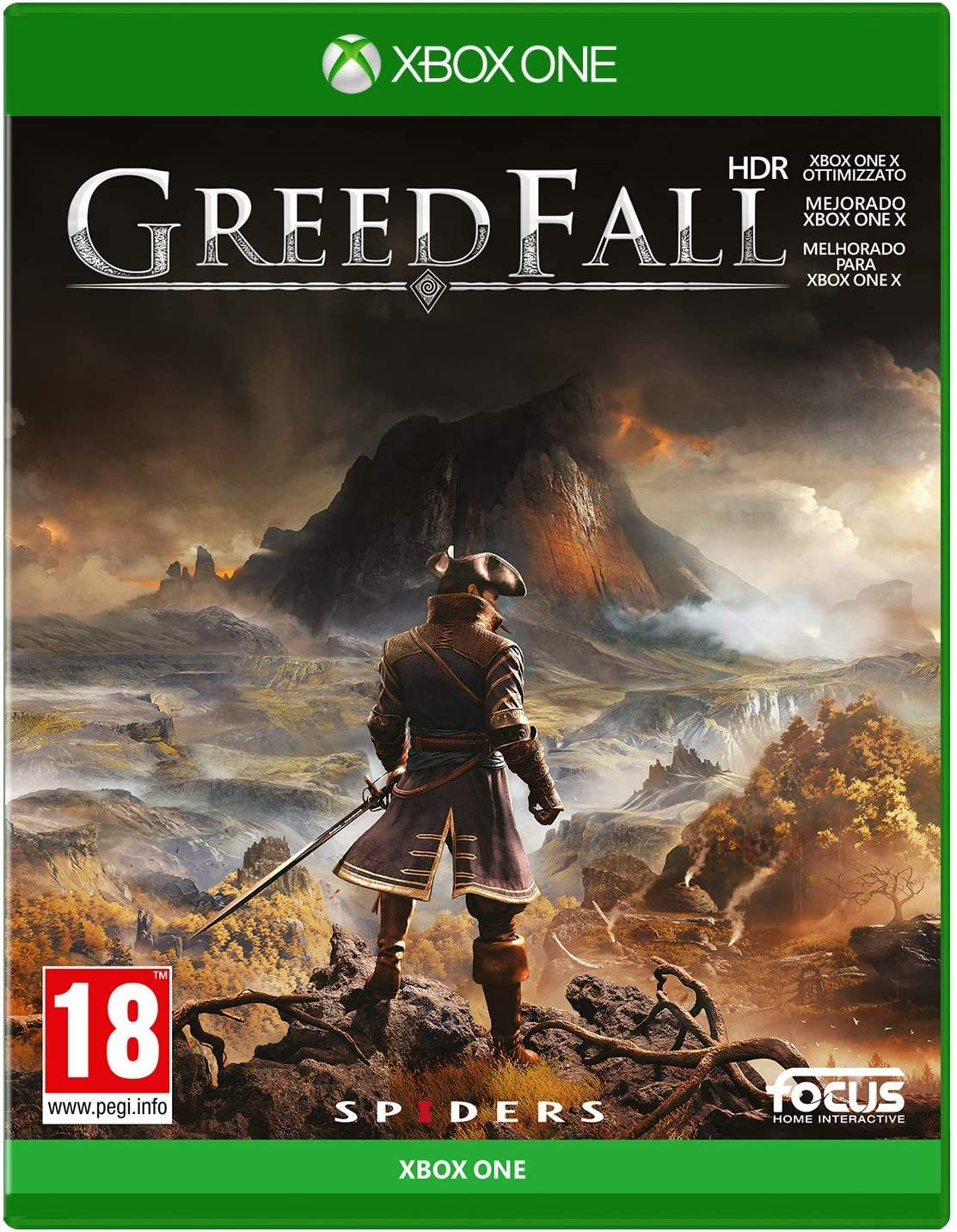 GreedFall - Xbox One: Amazon.es: Videojuegos