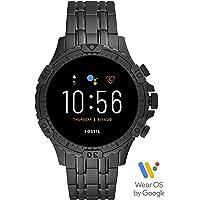 Fossil Connected Smartwatch Gen 5 para Hombre con pantalla táctil , altavoz, frecuencia cardíaca, GPS, NFC y…