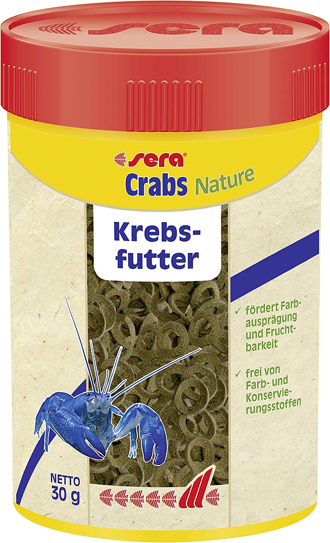 Sera 556 Crabs Natural 1 oz 100 ml Pet Food, One Size