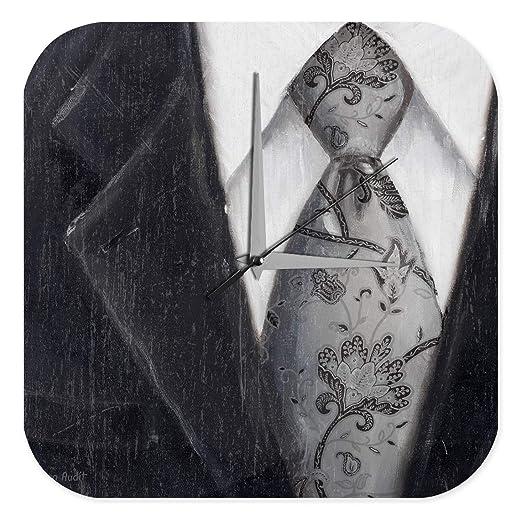 Reloj De Pared Moda Ropa Chaqueta corbata camisa Plexiglas Impreso ...