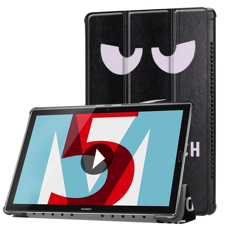 Standfunktion und Touchpen H/ülle f/ür Huawei MediaPad M5 10.8 Zoll Schutzh/ülle Tablet Smart Cover mit Auto Sleep//Wake