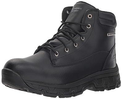 f4751f2fc93ed Skechers Men's Morson-SINATRO Hiking Boot Black 6.5 Medium US