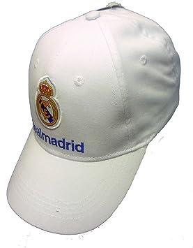 Producto oficial de Original FC Real Madrid Logo blanco gorra ...