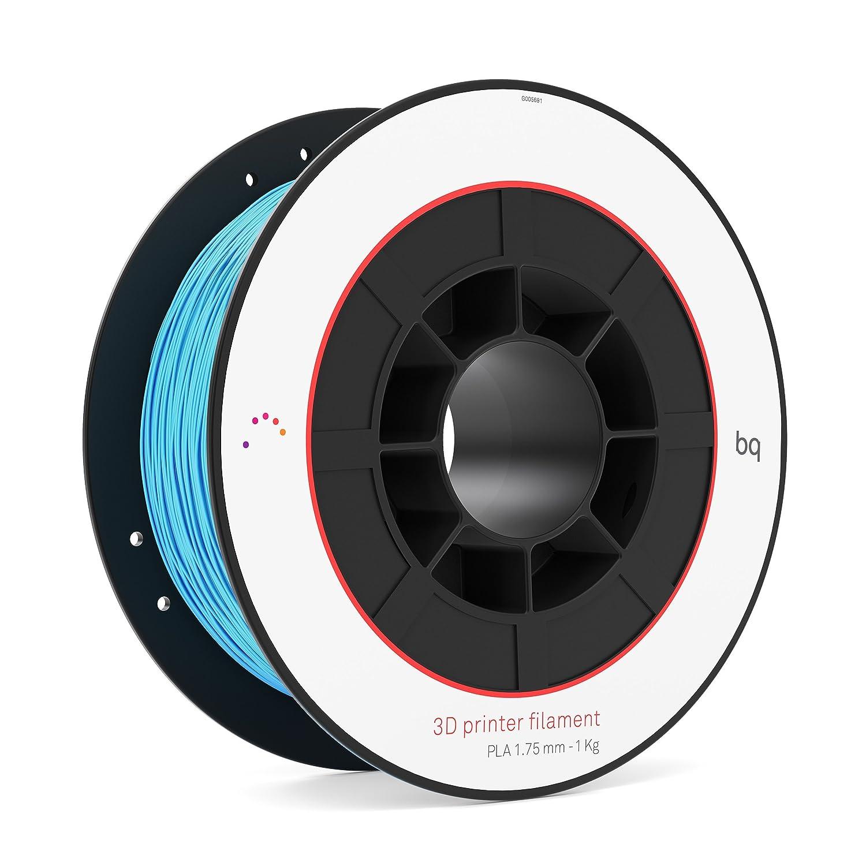 BQ F000101– Filament de PLA para impresión 3D, color topacio azul