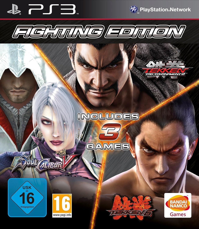 Fighting Edition Tekken 6 Tekken Tag Tournament 2 And Soul Calibur V Ps3 Amazon Co Uk Pc Video Games