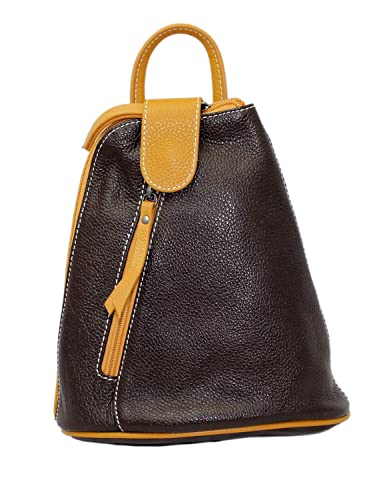 Cavalieri Soft Small Italian Leather Rucksack Backpack Shoulder ...
