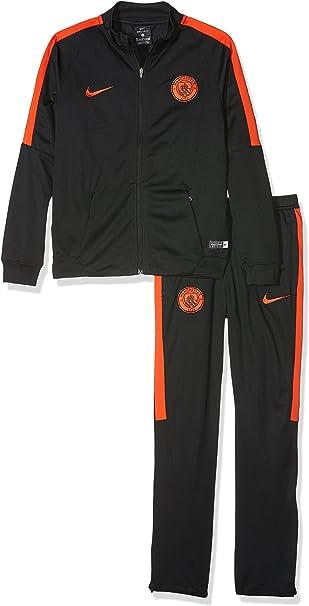 Desconocido Nike Y Nk Dry TRK Suit Sqd K Chándal línea Manchester ...