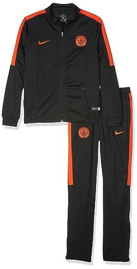 Nike Y Nk Dry Trk Suit Sqd K - Home Kit Line Manchester City F.C. ... 1b5dba5d4d6c6