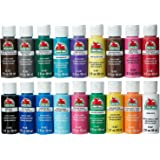 Apple Barrel Acrylic Paint Set, 18 Piece (2-Ounce), PROMOABI Best Selling Colors I (Limited Edition)