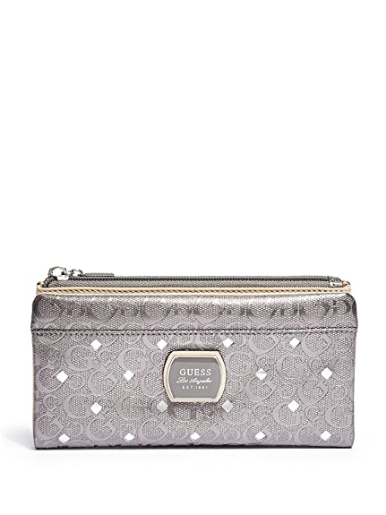 Guess - Monedero Plateado plata: Amazon.es: Zapatos y ...