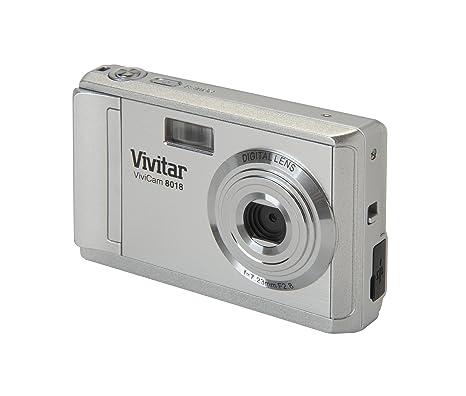 amazon com vivitar v8018 8 1mp digital camera 8x zoom silver rh amazon com Digital Cameras with Manual Settings PowerShot Camera Manual