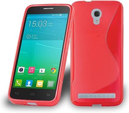 Cadorabo Alcatel One Touch Idol 2 Mini S Funda de Silicona TPU ...