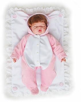 Dormir des poupées de bébé en robe Coussin de vinyle pour vêtements pour 3e8a0f77f53