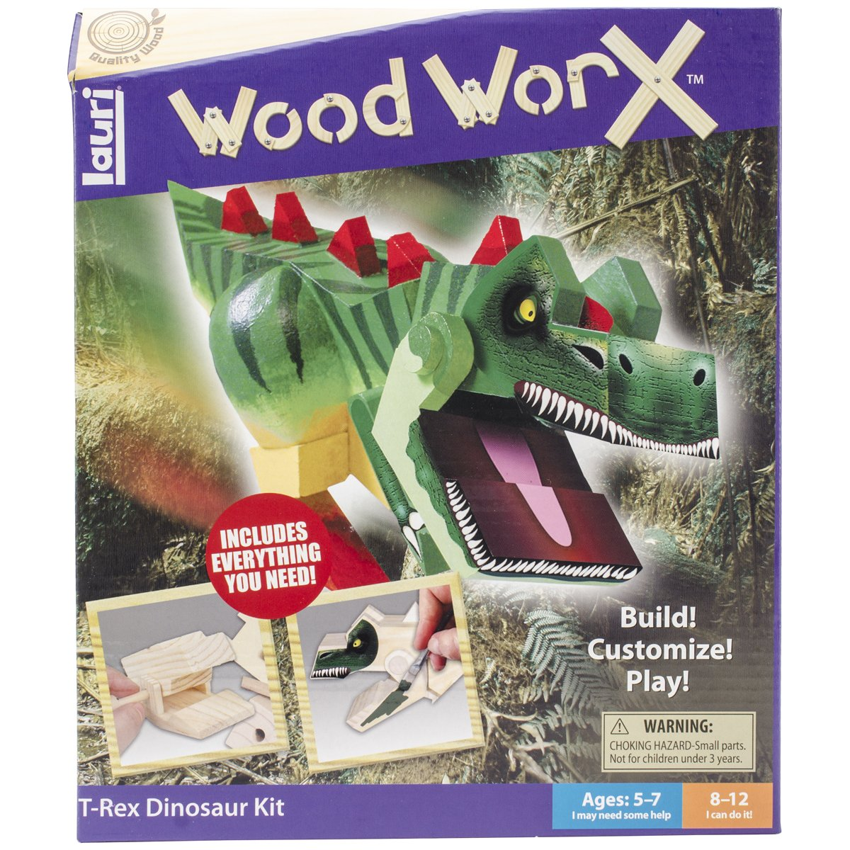 Lauri Wood WorX - T-Rex Kit Patch Products 3621