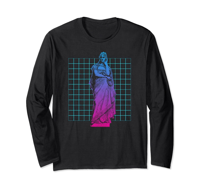 Vaporwave Christmas Sweater.Vaporwave Shirt Cool Synthwave Retrowave Style Statue Gift Fa