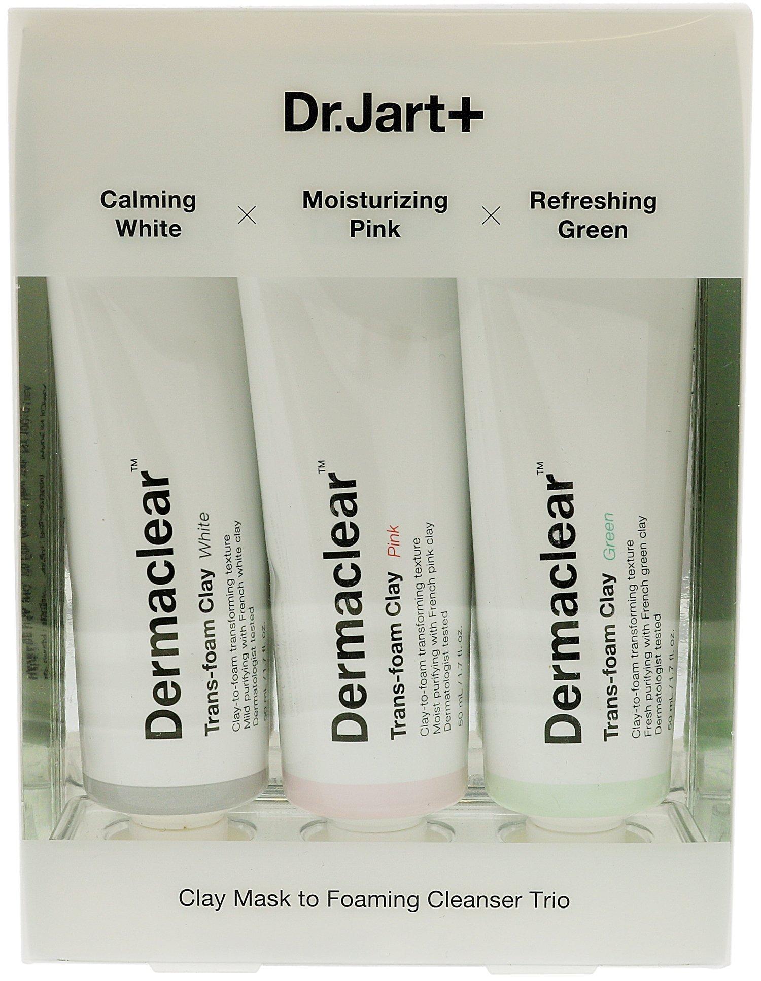 DR. JART+ Dermaclear Trans-Foam Clay Trio