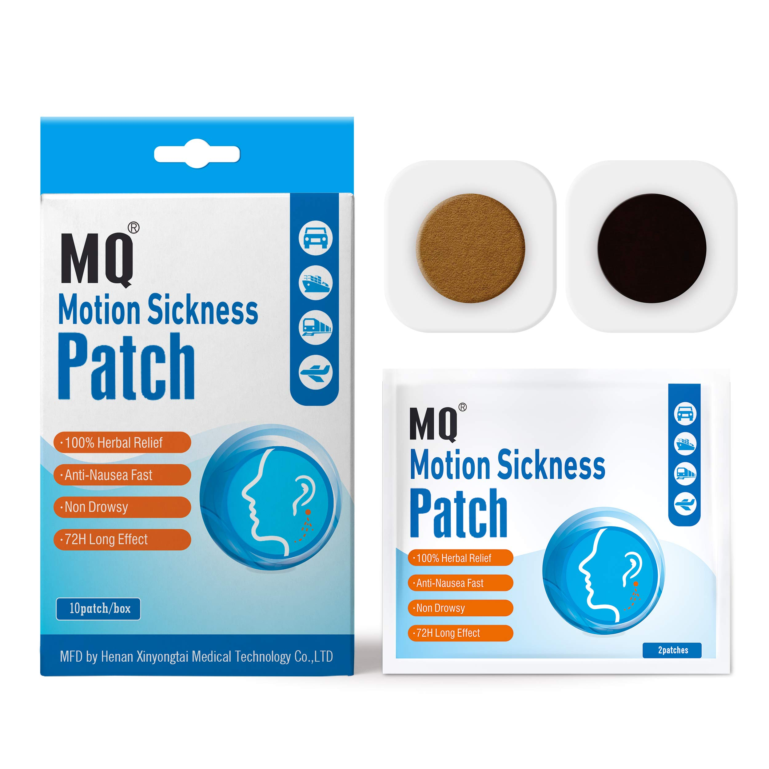 MQ Motion Sickness Patch (10 piece)