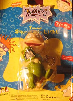 Amazon.com: Rugrats: Tommy Keychain Squeeze Light: Toys & Games