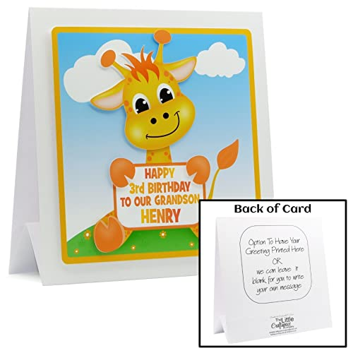 Personalised 1st Birthday Card Personalise With Any Name Age