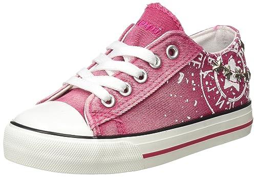 BEPPI Canvas Shoe, Zapatillas de Deporte para Niñas: Amazon.es: Zapatos y complementos