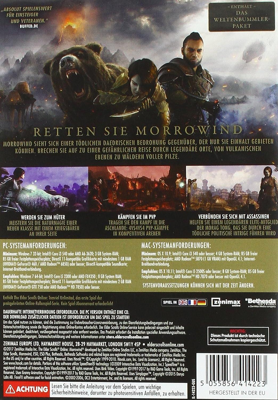 The Elder Scrolls Online: Morrowind [PC]: Amazon.de: Games