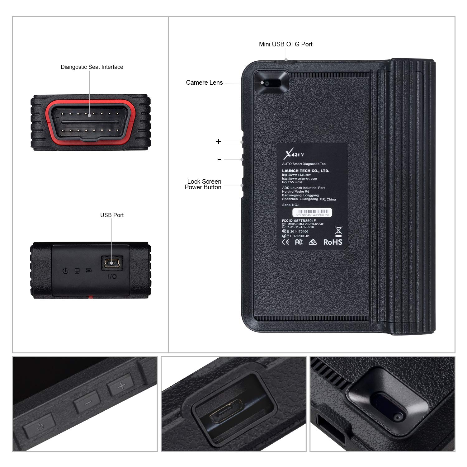 LAUNCH X431 V PRO Bi-Directional OBD2 Scan Tool Actuation Test,ECU Coding,Key Programming, Reset Functions,One-Key Generate Vehicle Health Report,Live Data Graphing-Free Update by LAUNCH (Image #9)
