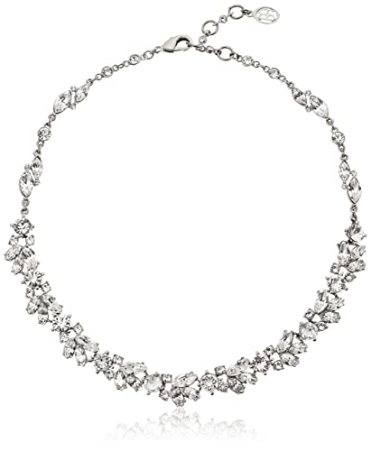 statement necklaces necklace crystal vine silver