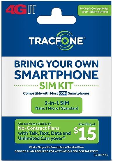 Amazon.com: Tracfone – traer su propio teléfono