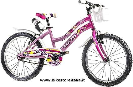 GFM - Bicicleta de 20 pulgadas para niña de 6-9 años, hecha en ...
