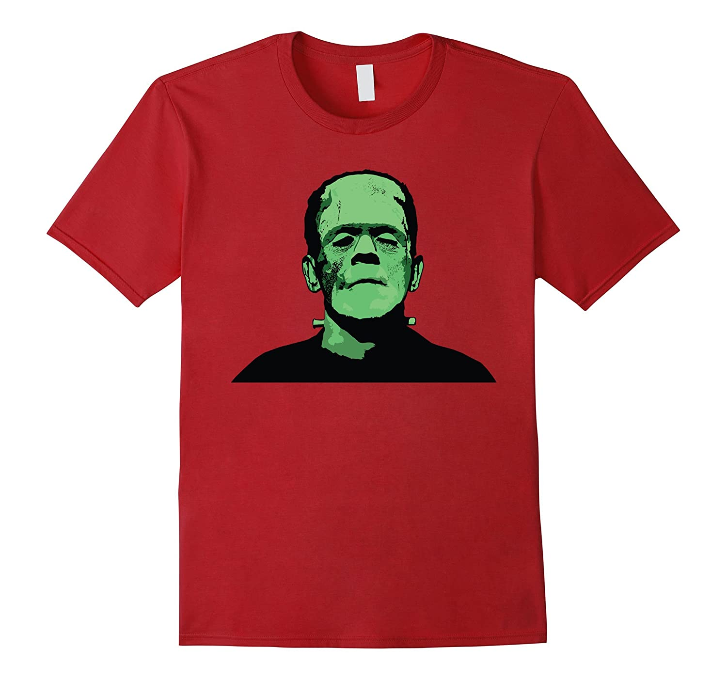 Frankenstein Monster Design T-Shirt-FL