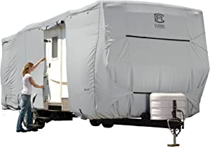 Classic Accessories OverDrive PermaPro Heavy Duty Cover for 22' to 24' Travel Trailers, Grey (Limited