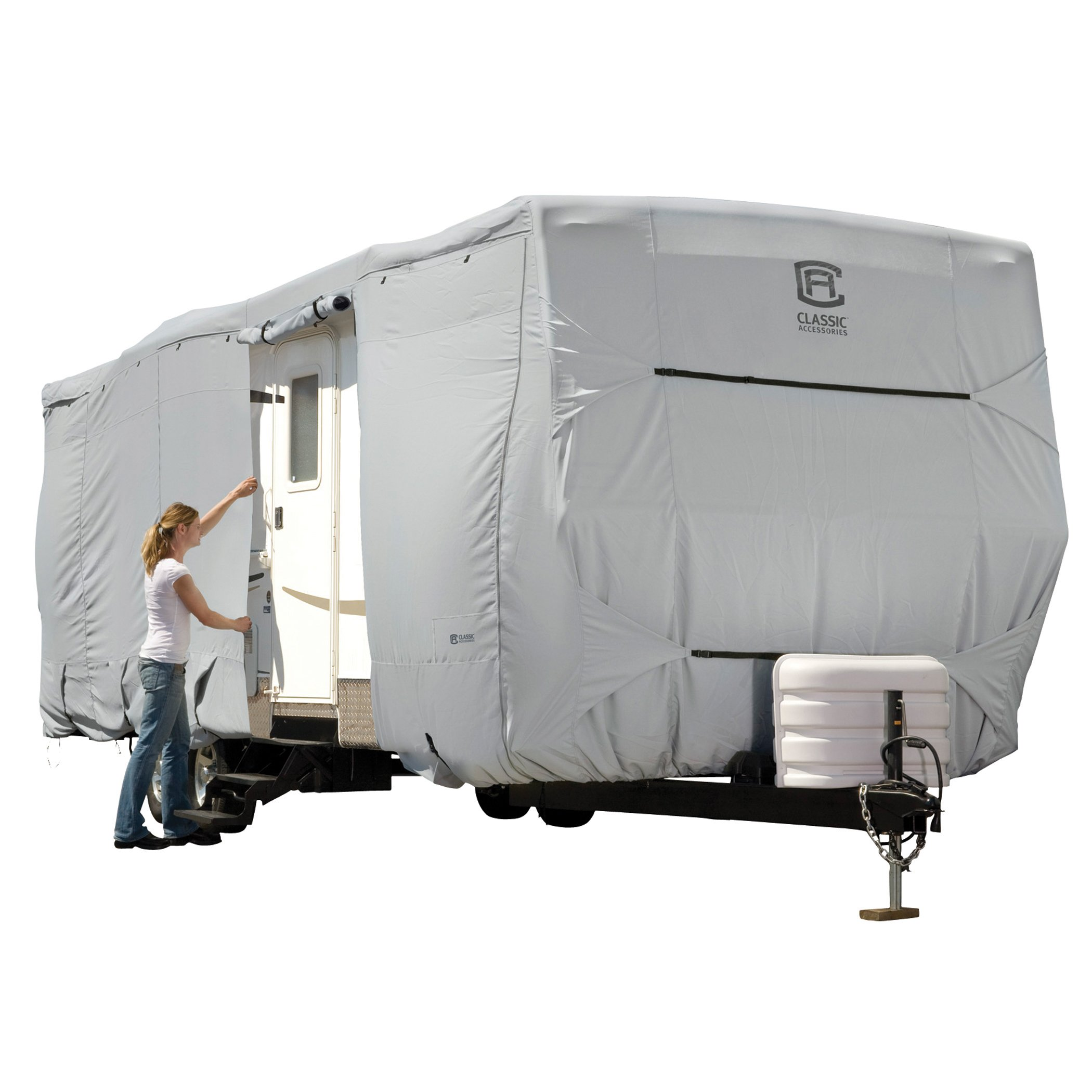 Classic Accessories OverDrive PermaPro Heavy Duty Cover for up to 20' Travel Trailers by Classic Accessories
