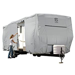 Classic Accessories OverDrive PermaPro Heavy Duty Cover for 24' to 27' Travel Trailers