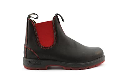 premium selection d2164 0aa3c Blundstone Stivaletto 1316 Black Voltan Red