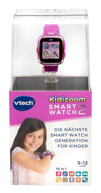 VTech 80 – 171654 – Kidizoom Smartwatch 2, Color Morado