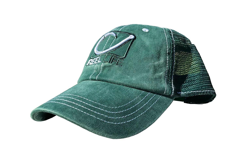 『5年保証』 Reel Life円フックWashed帽子 Reel – Coastalグリーン Coastalグリーン – B077GH3HYN, 愛南ーえびす屋:6e75a223 --- specialcharacter.co
