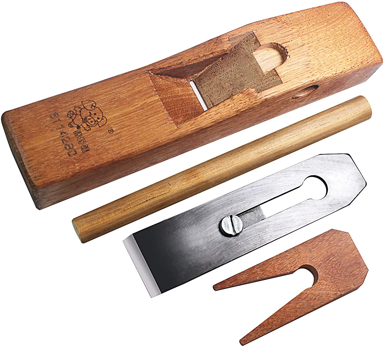 Woodworking Planer,Wooden Block Plane,Rosewood Woodworking Rounding Plane Edge Hand Planer for Carpenter Woodcraft 160mm
