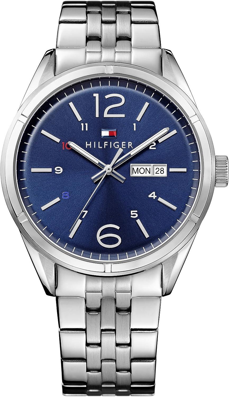 Tommy Hifiger – 1791061 – Charlie – Armbanduhr – Quarz Analog – Zifferblatt Blau Armband