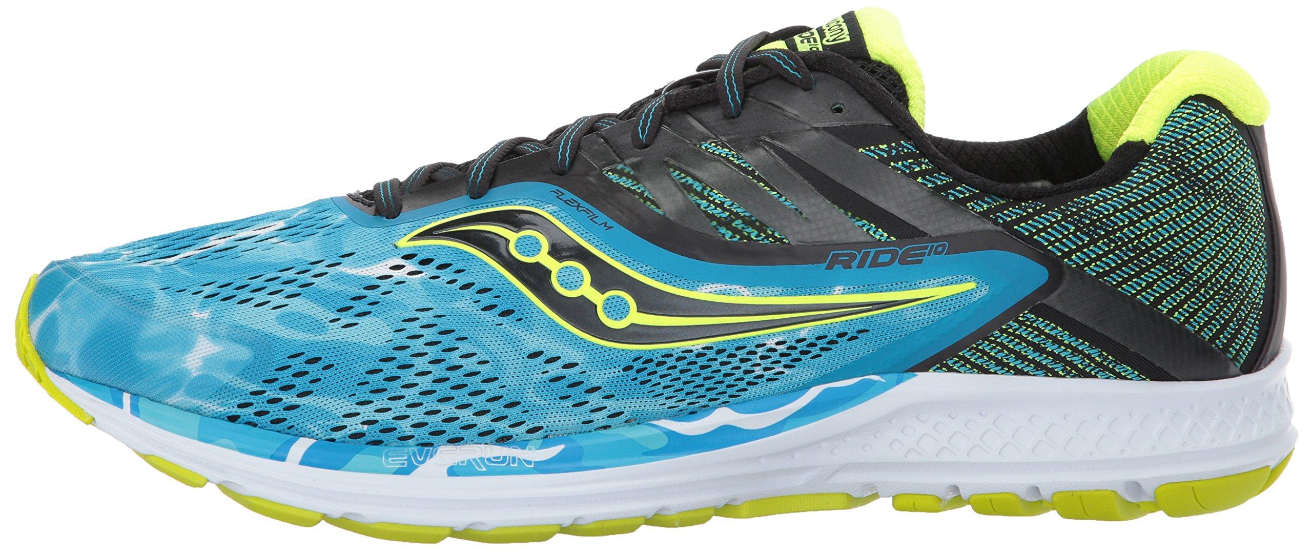 Saucony Ride 10 Men's Running Shoes choose ColorSize