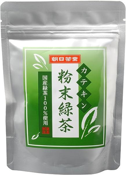 朝日茶業 カテキン粉末緑茶 100g
