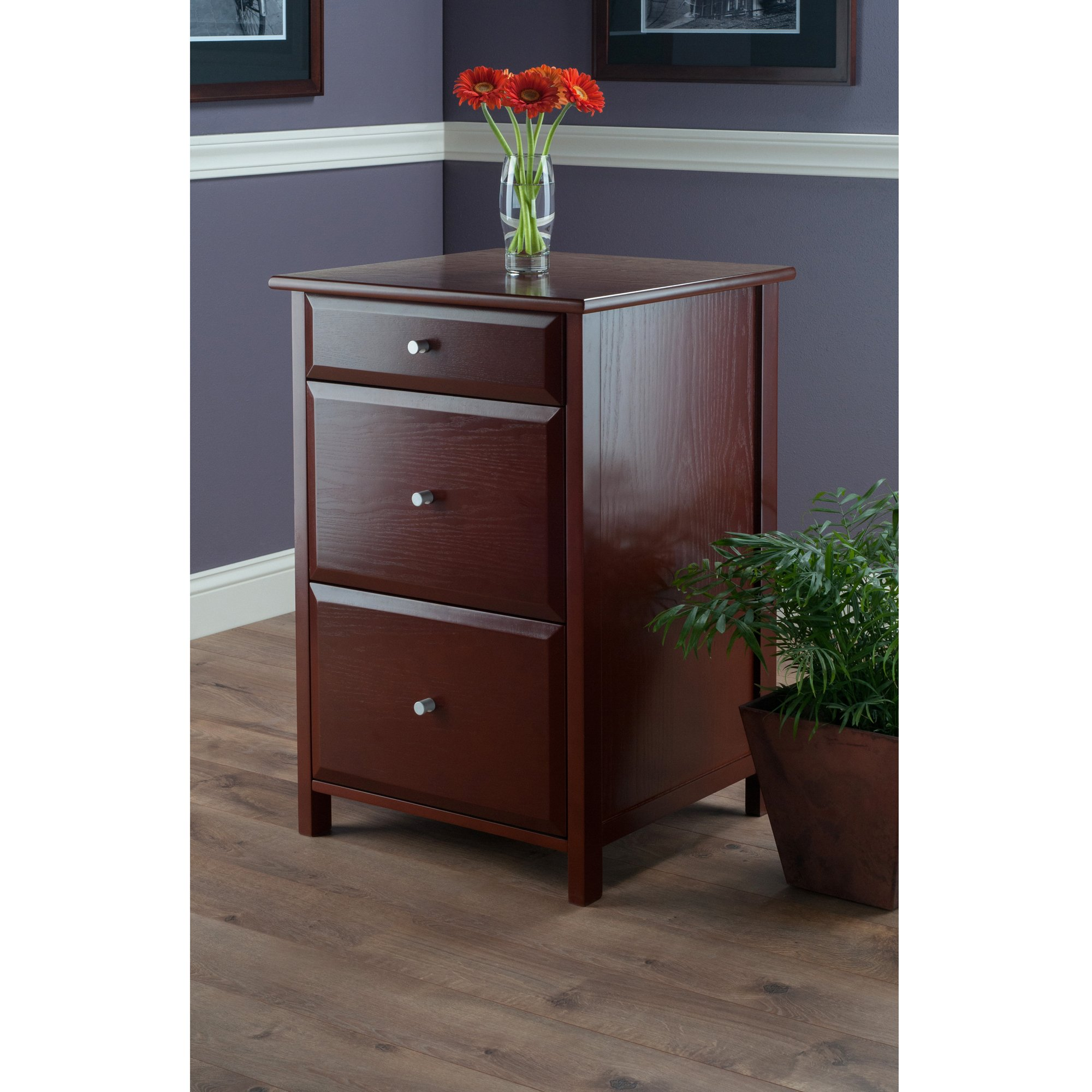 Winsome Wood 94321-WW Delta Home Office, Walnut by Winsome Wood (Image #5)