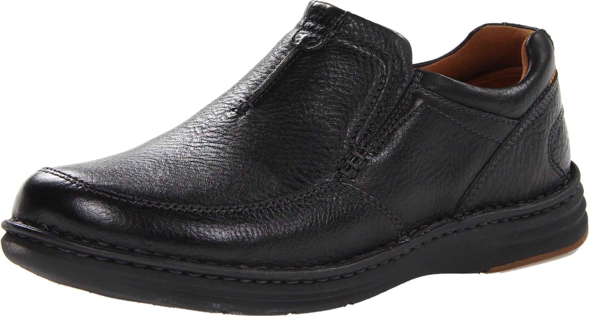 Dunham Men's REVchase Slip-On, Black, 8 D US