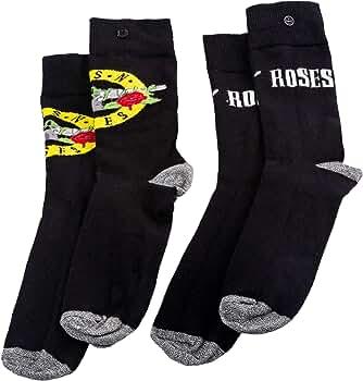 vanilla undeground Guns N Roses 2 Pack Mens Socks: Amazon.es: Ropa y accesorios